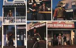 The Western Stunt Show Postcard