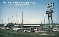 Mills Chevrolet Co. Postcard