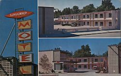 Sundowner Motel Postcard