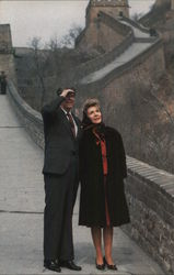 Ronald & Nancy Reagan at Great Wall of China