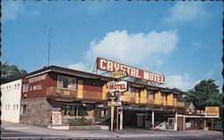 Crystal Motel Postcard