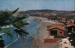 La Jolla Beach and Tennis Club Postcard