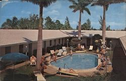 Motel Stewart - Naples on the Gulf Postcard