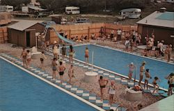 View of Swimming Pools at Lone Oak Campsites