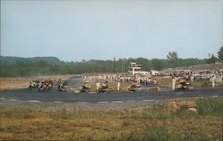 National Championship Motorcycle Road Races on the World Famous Grand Prix Course Postcard
