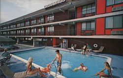 Crossing Motor Inn Postcard
