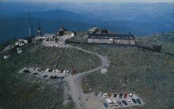 Aerial View of Summit House Hotel Postcard