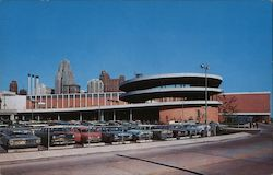 Cobo Hall and Convention Arena, Ramp Side Postcard