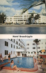 Hotel Broadripple Postcard