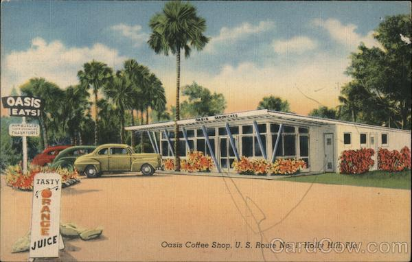 Oasis Coffee Shop Holly Hill Florida