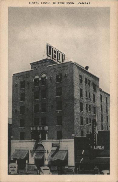 Hotel Leon Hutchinson Kansas