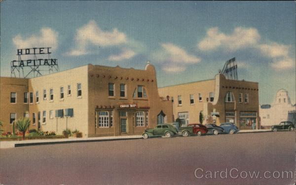 El Capitan Hotel Van Horn Texas