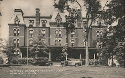 Suffield Academy, North Building Postcard