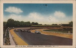 Start of the Race, Indianapolis Motor Speedway