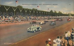 Indianapolis Speedway 1937 Postcard
