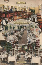 Zucca's Restaurant - Bar and Grill, Venetian Dining Room, The Gardens