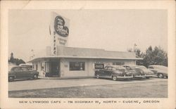 New Lynwood Cafe - 796 Highway 99 North Postcard