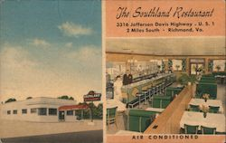 The Southland Restaurant Postcard