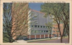 Medical Sciences Building of the Mayo Foundation and Mayo Clinic Postcard