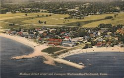 Madison Beach Hotel and Cottages Postcard