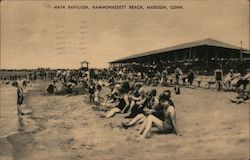 Main Pavilion, Hammonassett Beach Postcard