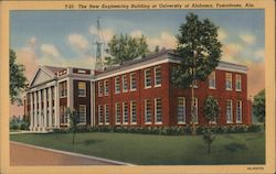 T-23 The new Engineering Build at University of Alabama Postcard