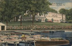 Hotel Elmwood Postcard