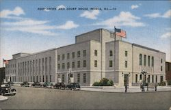 Post Office and Court House Postcard