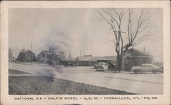 Dale's Motel - National A A, U.S. 60 Postcard