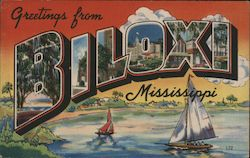 Greetings from Biloxi, Mississippi
