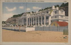The Beach Home of Marion Davies