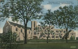 Business and Economics Building, Indiana University Postcard