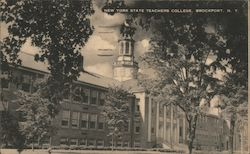 New York State Teachers College Postcard