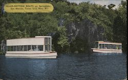 Glass Bottom Boats on Springlake