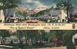 "Millstream Motel ""One of Ogden's Finest"" Postcard"