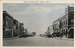 Walnut Street East Postcard