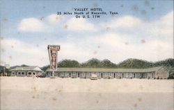 Valley Motel Postcard