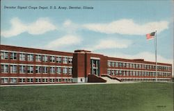 Decatur Signal Corps Depot, U.S. Army Postcard
