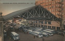 Greyhound Bus Station, Indianapolis, Ind. 107