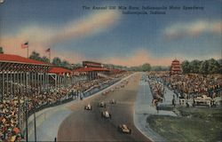 The Annual 500 Mile Race, Indianapolis Motor Speedway