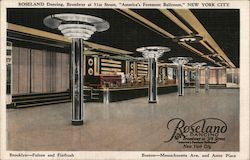 "Roseland Dancing, Broadway at 51st Street ""America's Foremost Ballroom"""