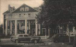 Mayflower Hotel. Cape Cod Postcard