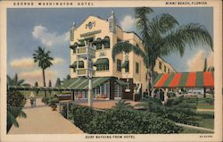 George Washington Hotel Postcard
