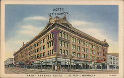 Saint Francis Hotel - Modern and Fireproof Postcard