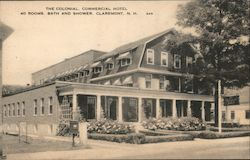 The Colonial, Commerical Hotel Postcard