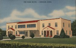 The Park Motel Postcard