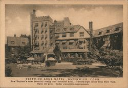 Pickwick Arms Hotel Postcard