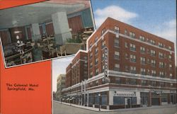 The Colonial Hotel Postcard