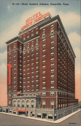 Hotel Andrew Johnson Postcard