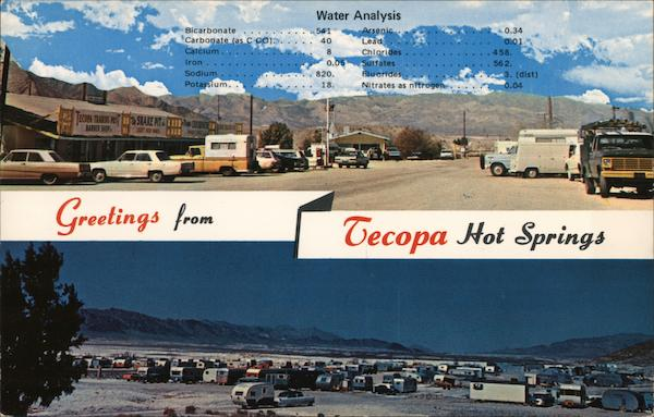Greetings from Tecopa Hot Springs California